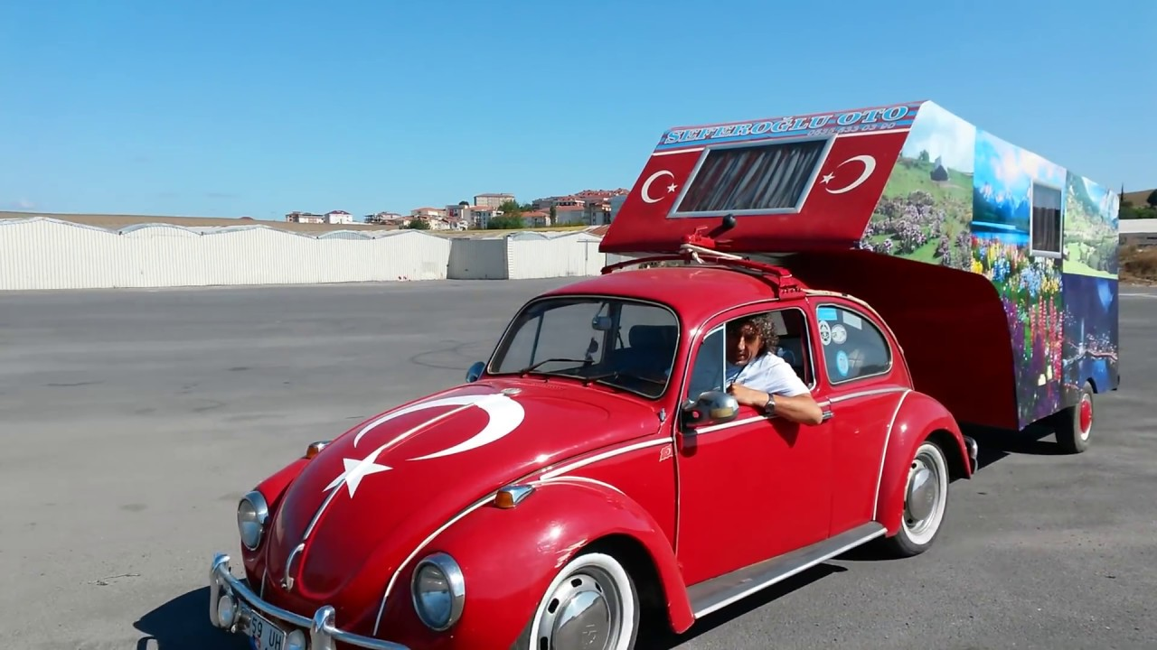 Vw Beetle Test >> volkswagen beetle & camper - new road test TÜRKİYE - YouTube