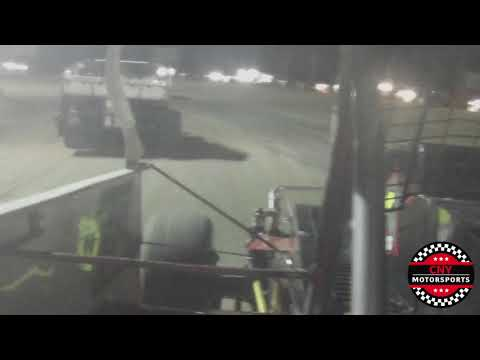 Shaun Pangman In-Car at Utica-Rome Speedway - October 3, 2017