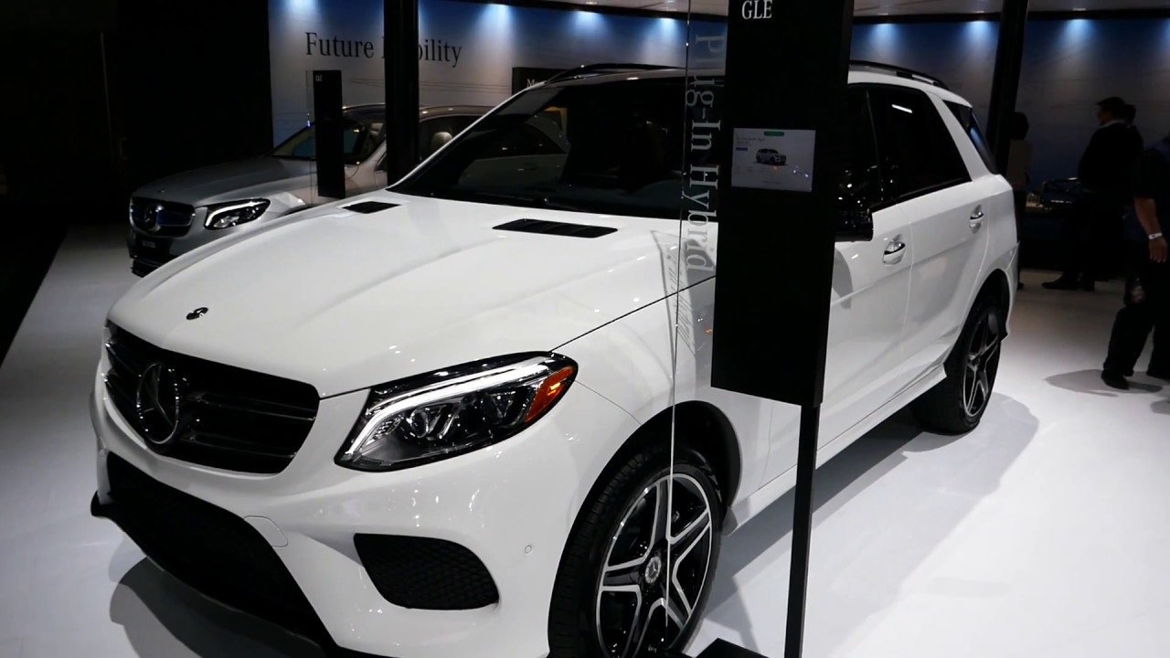 New 2018 Mercedes Benz Gle 550e 4matic Plug In Hybrid Suv 2017 La Auto Show