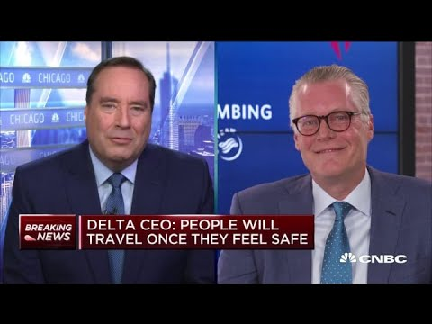 Delta Air Lines CEO On Q1 Earnings, Protecting Employees And More