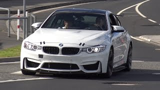 THIS IS THE NEW BMW M4 GT4 TESTING ON THE NORDSCHLEIFE