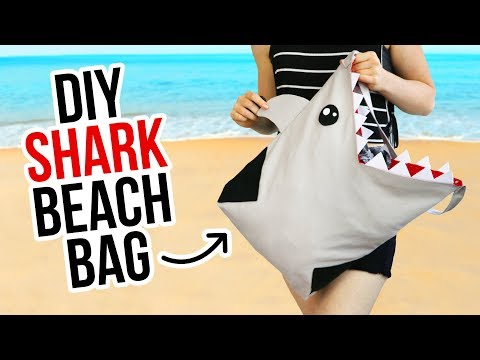 DIY Shark Beach Bag - HGTV Handmade