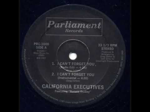 California Executives( I can't forget you) 1987