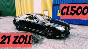 CL 500 bekommt neue Felgen, zu fett ?   C216   Mercedes Benz