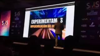 Andrés Silva Arancibia. Social Media Summit 2016, Santa Cruz, Bolivia.