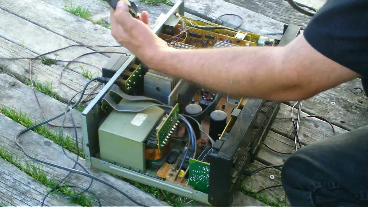 Technics SAGX505 335W Dolby Surround ProLogic  YouTube