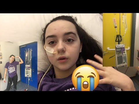 I'VE BEEN ADMITTED TO HOSPITAL :( 23/2/18