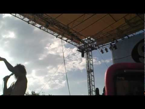 Falling in Reverse live (Ronnie shows butt)