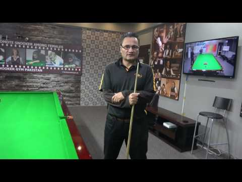 Snooker Coaching Youtube Channel in Urdu by TSG.PK with Arshad Qureshi