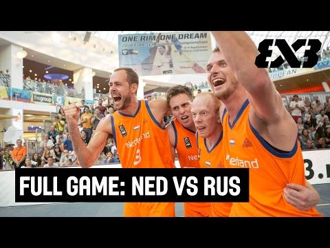 Full Game: Netherlands vs Russia - FIBA 3x3