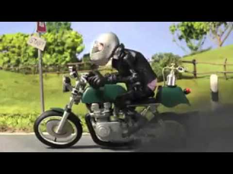 Lustige Motorrad video - YouTube
