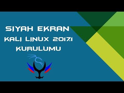 Kali Linux 2017.1 Kurulumu (Kali Linux 2017.1 Installation)