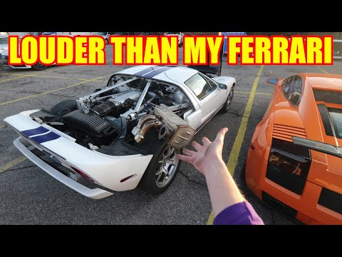 I NOW have the LOUDEST Ford GT in the World!