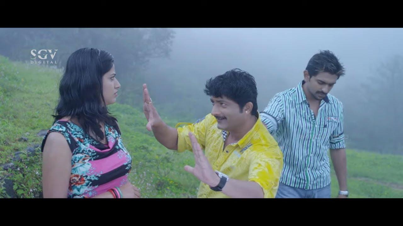 ನೀನು ಅವನ ಹೆಂಡ್ತಿ ಥರ ನಟನೆ ಮಾಡ್ಬೇಕು ಅಷ್ಟೇ | Ond Chance Kodi Kannada Movie | Ravishankar | Comedy Scene
