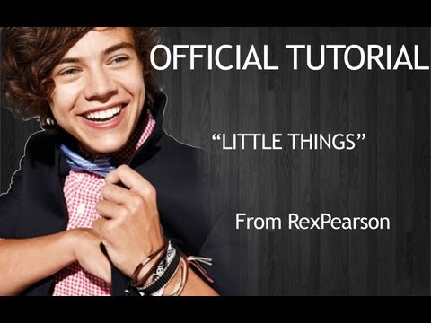 Beginner Lesson One Direction Little Things Guitar Tutorial | Chords | Strumming