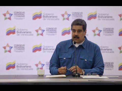 Maduro en Consejo Federal de Gobierno ordena reestructurar mercados municipales y acabar mafias