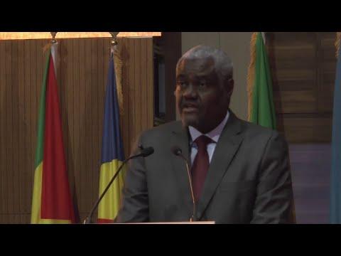 SOMMET UA À NOUAKCHOTT: LE PRÉSIDENT DE LA COMMISSION, MOUSSA FAKI