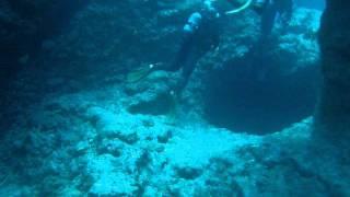 沖縄県宮古島のダイビングポイント。その独特の地形から、アントニオガ...