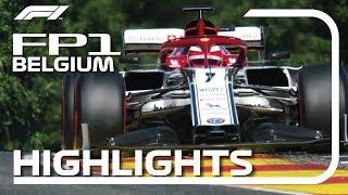 2019 Belgian Grand Prix: FP1 Highlights