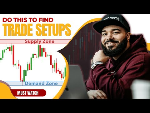 Do This To Find Trade Setups - Supply & Demand