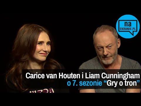 Carice van Houten i Liam Cunningham opowiadają o 7. sezonie Gry o tron