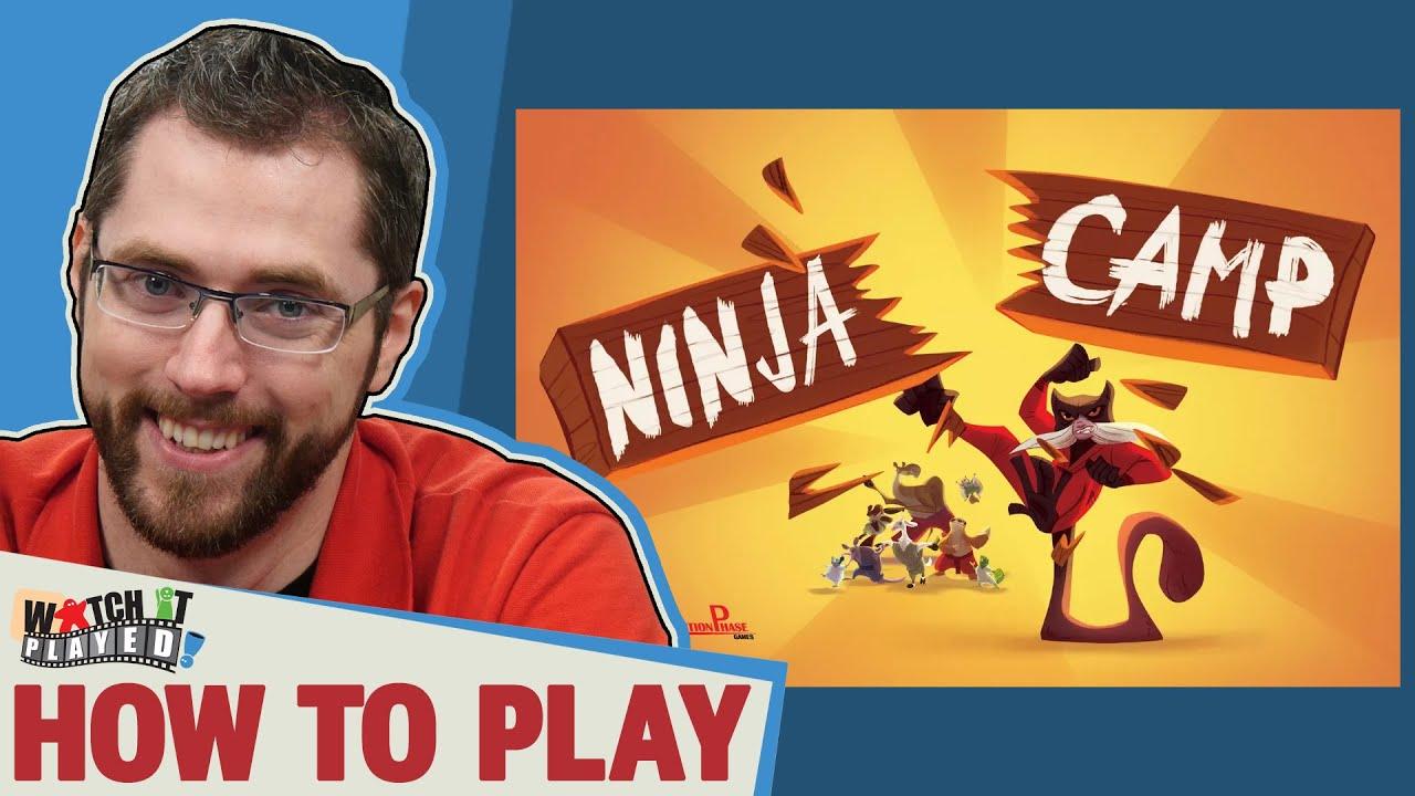 Ninja Camp – How To Play