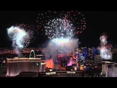 New Year's Eve Fireworks at Las Vegas