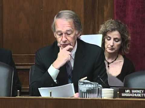 Dec. 2, 2011: Markey questions if Keystone pipeline will really aid in US economic, nat