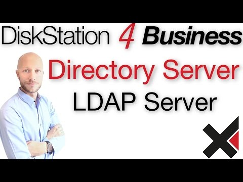 DiskStation 4 Business LDAP Directory Server einrichten