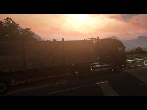Euro Truck Simulator 2 Scandinavia - Oslo to Kristiansand