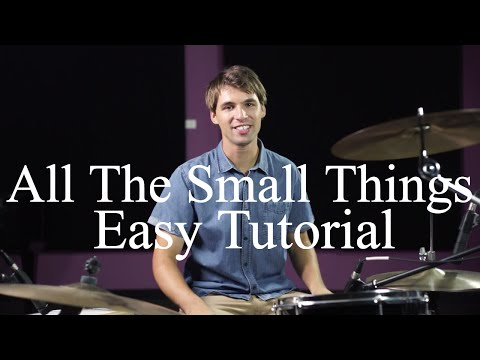 How To Play The Verse Of All The Small Things  Blink 182  Drumming Made Simple Episode #9