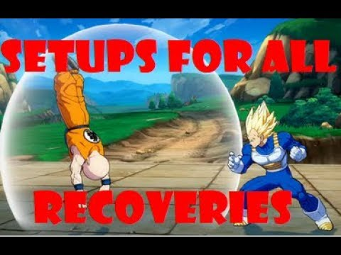 DBFZ How To Cover All Wake Up Recoveries