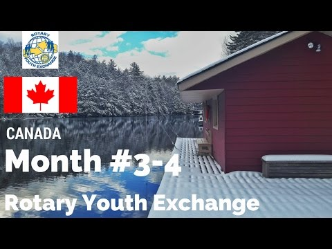 Months #3-4 - Rotary Youth Exchange Canada - GoPro Hero 4