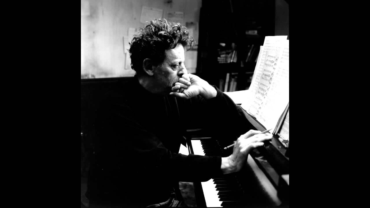 Young Philip Glass