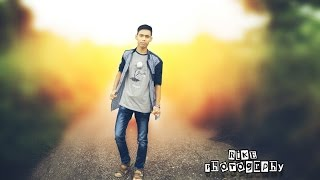 Picsart Tutorial - How to Blur Background Photo Manipulation in Picsart By SkHiT.TV