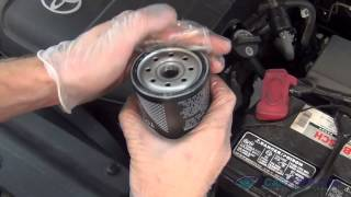 Oil Change & Filter Replacement Toyota Tacoma V6 2005-2015