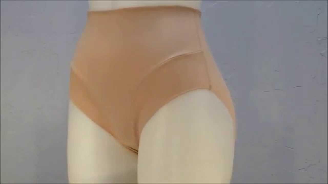 Style 5004 - Cupid® Comfort Leg Extra Firm Control Waistline Brief 360  Shapewear Video