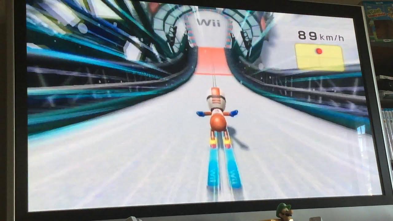 Wii Fit Plus Ski Jump Youtube