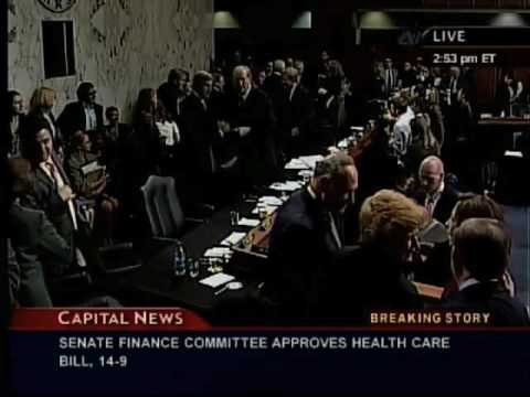 Senate Finance Committee Health Mark Up Vote