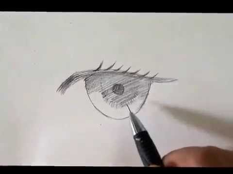 วิธีวาดตาให้สวยและมีมิติ
