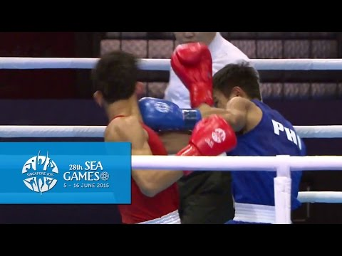 Boxing (Day 3) Men's Flyweight (52kg) Semifinals Bout 53 | 28th SEA Games Singapore 2015