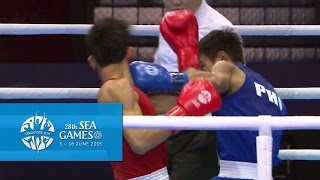 Gambar cover Boxing (Day 3) Men's Flyweight (52kg) Semifinals Bout 53 | 28th SEA Games Singapore 2015