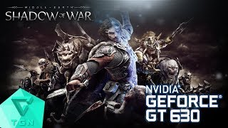 Middle-earth: Shadow of War™   Gameplay ON GT630 2GB DDR3 [HD]