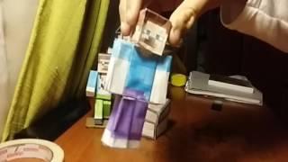 mis papercraft caseros de minecraft (parte 1)