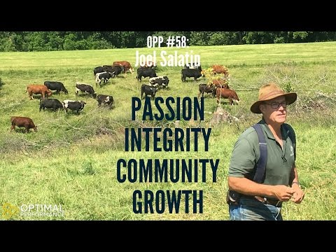 Grass fed Farming Pioneer Joel Salatin on Passion, Integrity, and Self Evolution