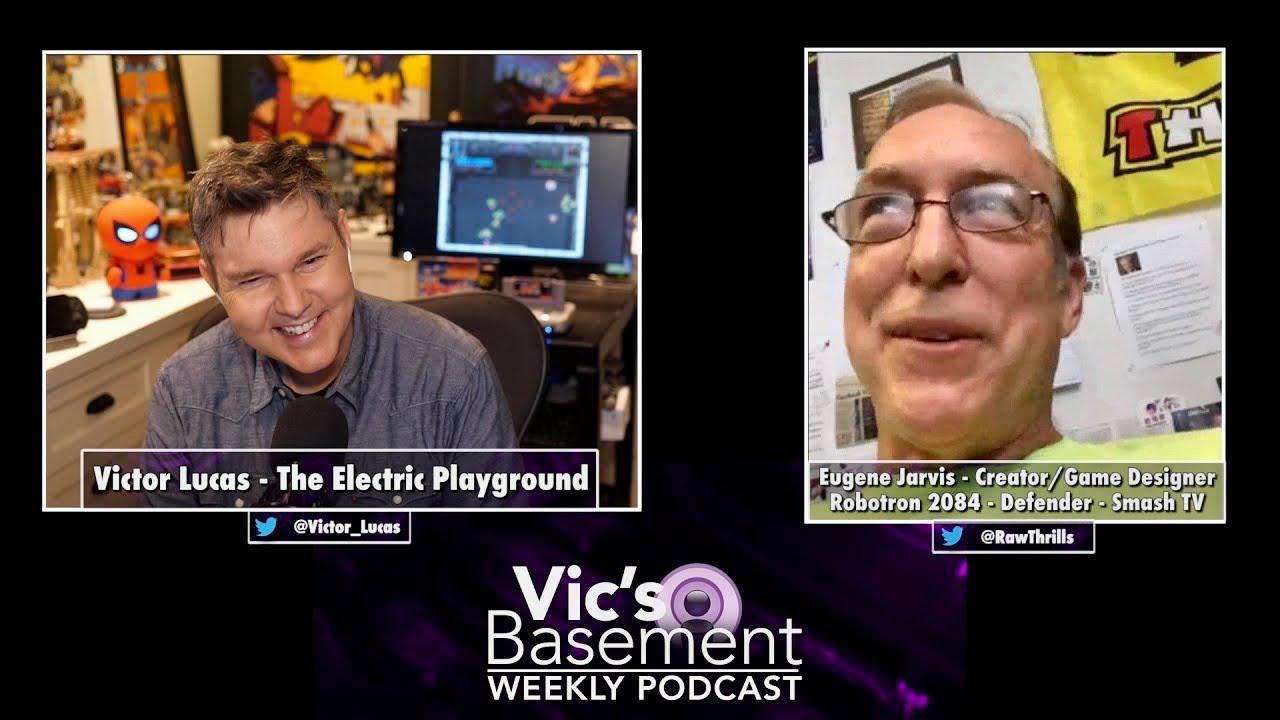 Arcade Legend Eugene Jarvis!! (Robotron! Jurassic Park! Defender! Halo Fire Team!) - Vic's Basement