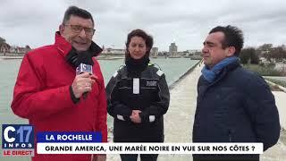 La Rochelle - Maréé noire en vue ?