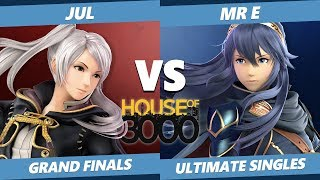 Smash Ultimate Tournament - Jul (Robin) Vs. Mr E [L] (Lucina) SSBU Xeno 155 Grand Finals