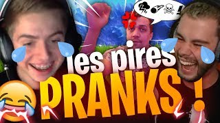 LES PIRES PRANKS DE LEBOUSEUH, THEKAIRI78 ET MICHOU ! (sur Fortnite Battle Royale)