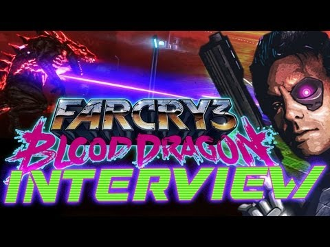 Far Cry 3: BLOOD DRAGON Interview: Omega Force, Cyber Sharks & Robo-Dogs! New Gameplay & Details!